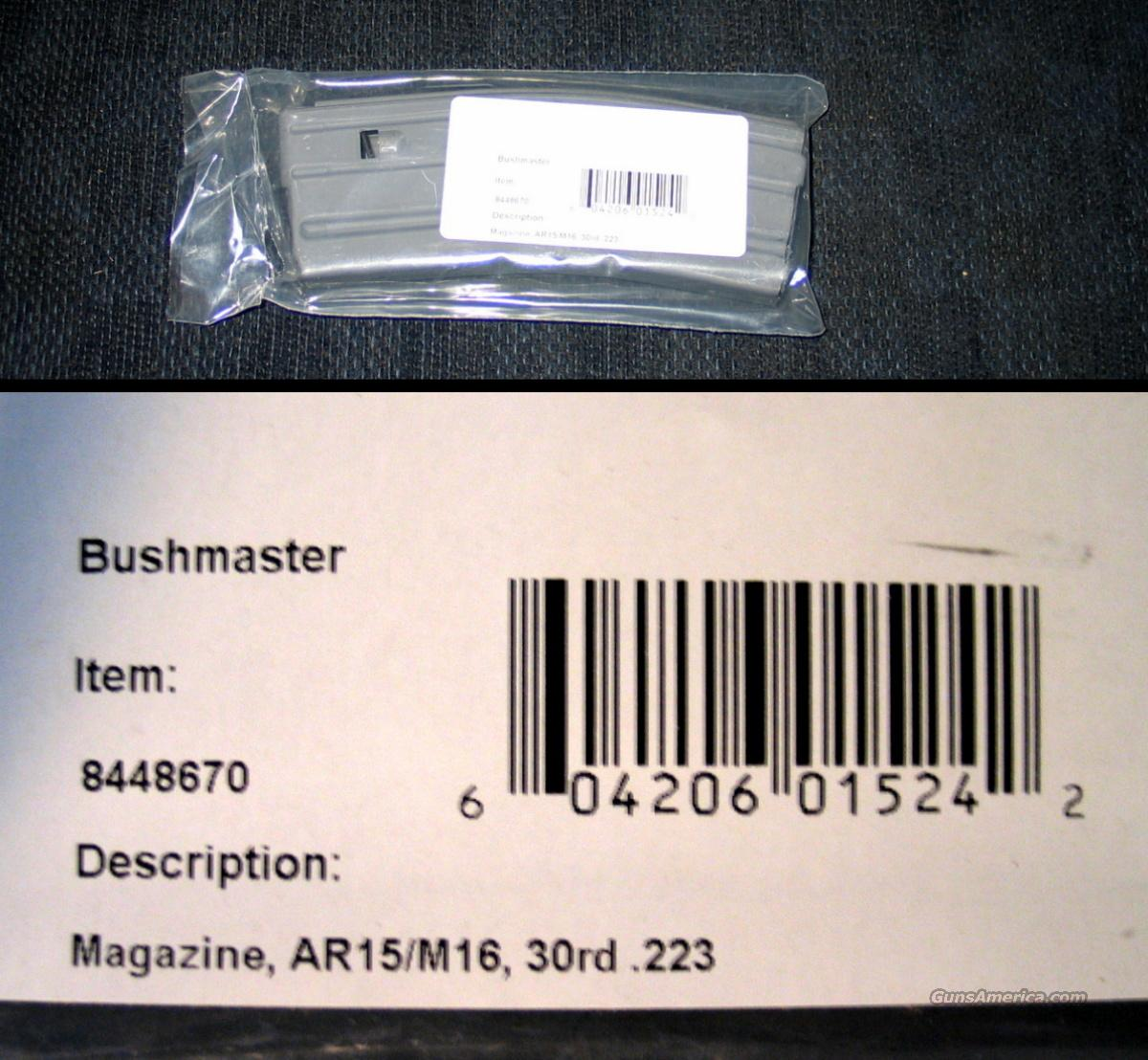 Bushmaster 30Rd AR mag - USA - New  Non-Guns > Magazines & Clips > Rifle Magazines > AR-15 Type