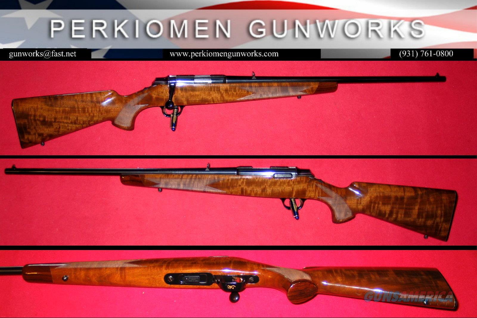 A-Bolt Rimfire .22LR bolt action rifle  Guns > Rifles > Browning Rifles > Bolt Action > Hunting > Blue