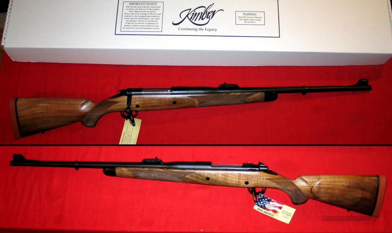 8400LA CAPRIVI .375 H&H Mag, NIB  Guns > Rifles > Kimber of America Rifles