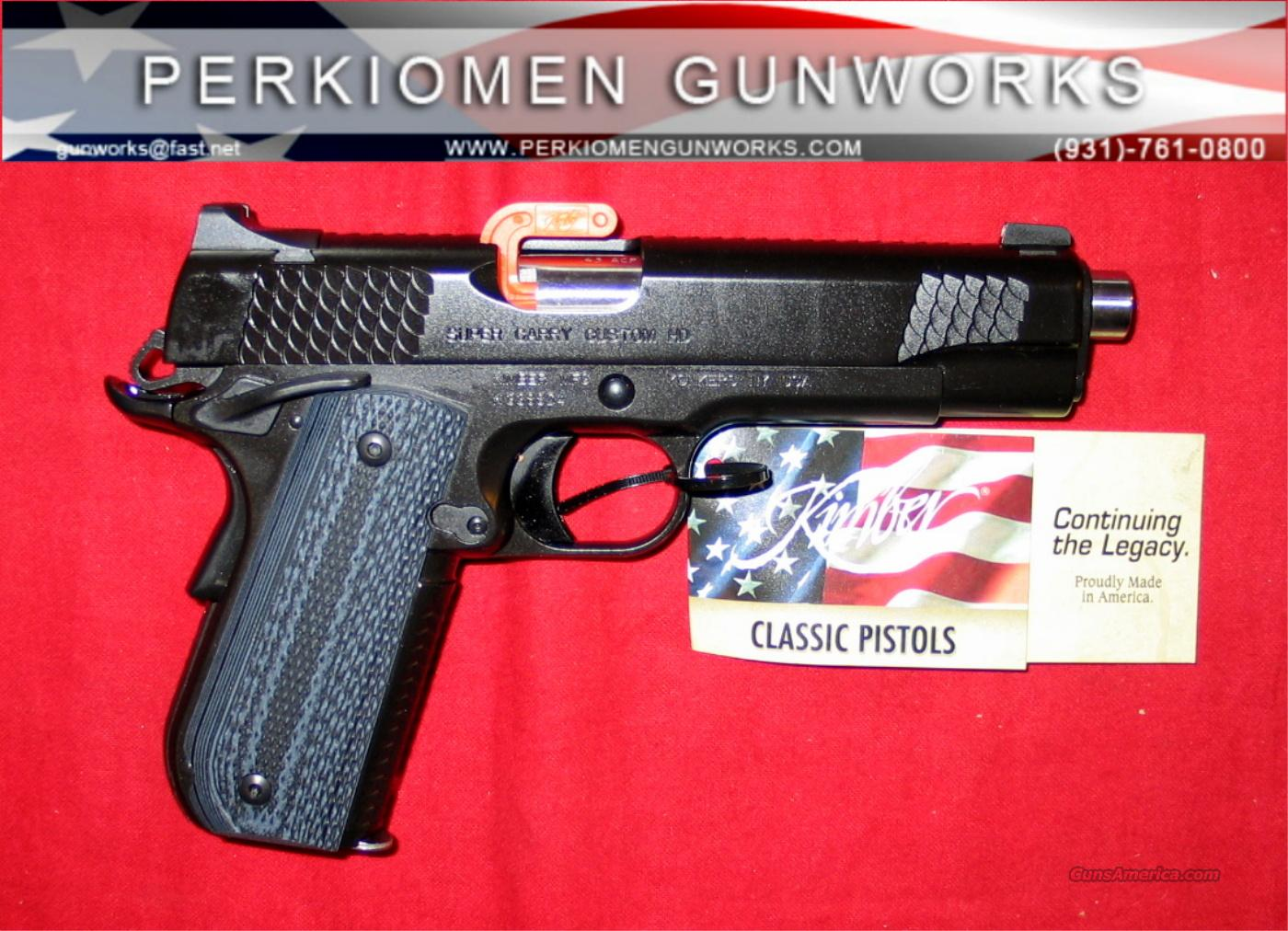 "Super Carry Custom HD (Heavy Duty), 45acp, 5"", New in Box  Guns > Pistols > Kimber of America Pistols"