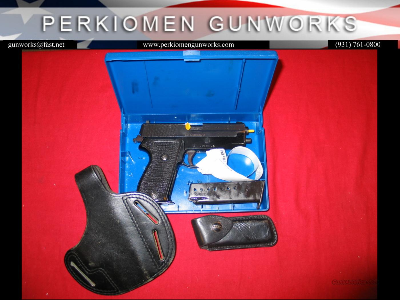 P6 (P225) 9MM, used w/Holster & Mag Pouch  Guns > Pistols > Sig - Sauer/Sigarms Pistols > Other