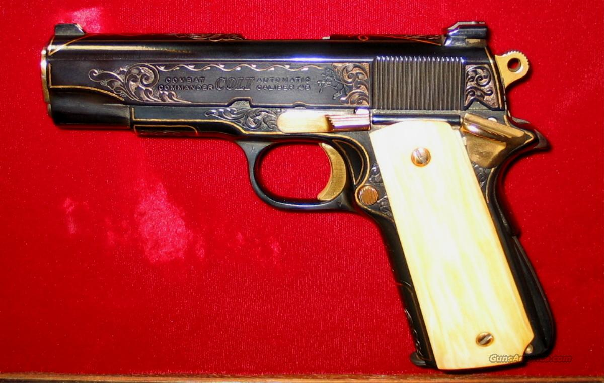Colt Custom Combat Commander  Guns > Pistols > Custom Pistols > 1911 Family