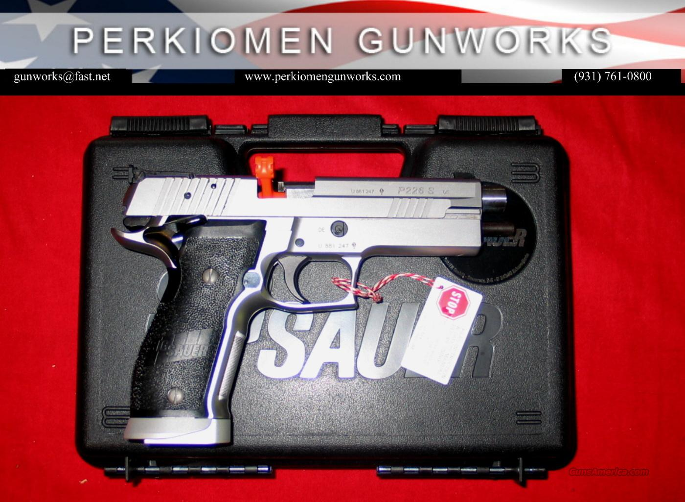 "226X5-9-COMP, 5"", SS, Competition 9MM - NIB  Guns > Pistols > Sig - Sauer/Sigarms Pistols > P226"
