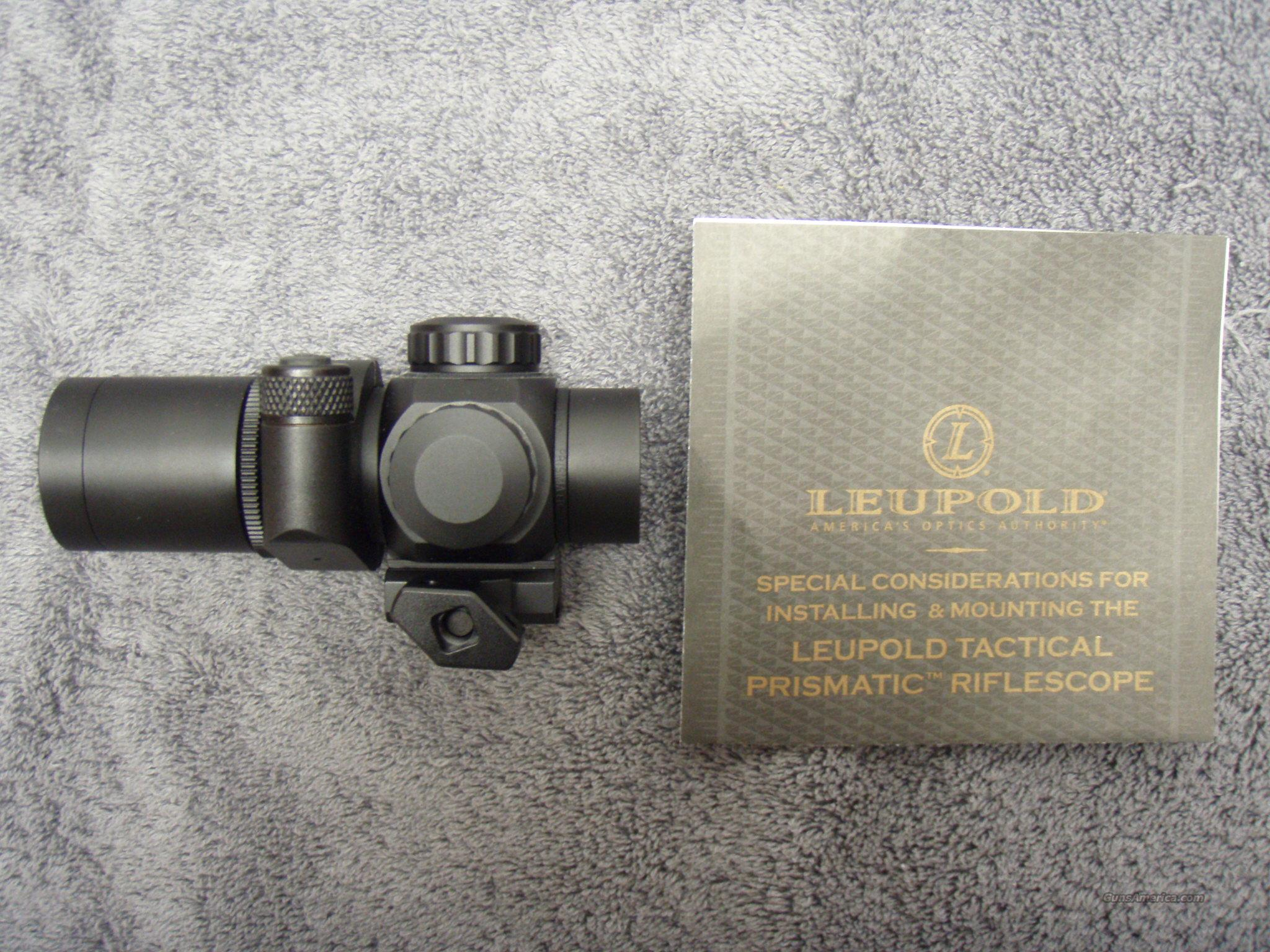 Leupold Tactical Prismatic Riflescope  Non-Guns > Scopes/Mounts/Rings & Optics > Tactical Scopes > Red Dot