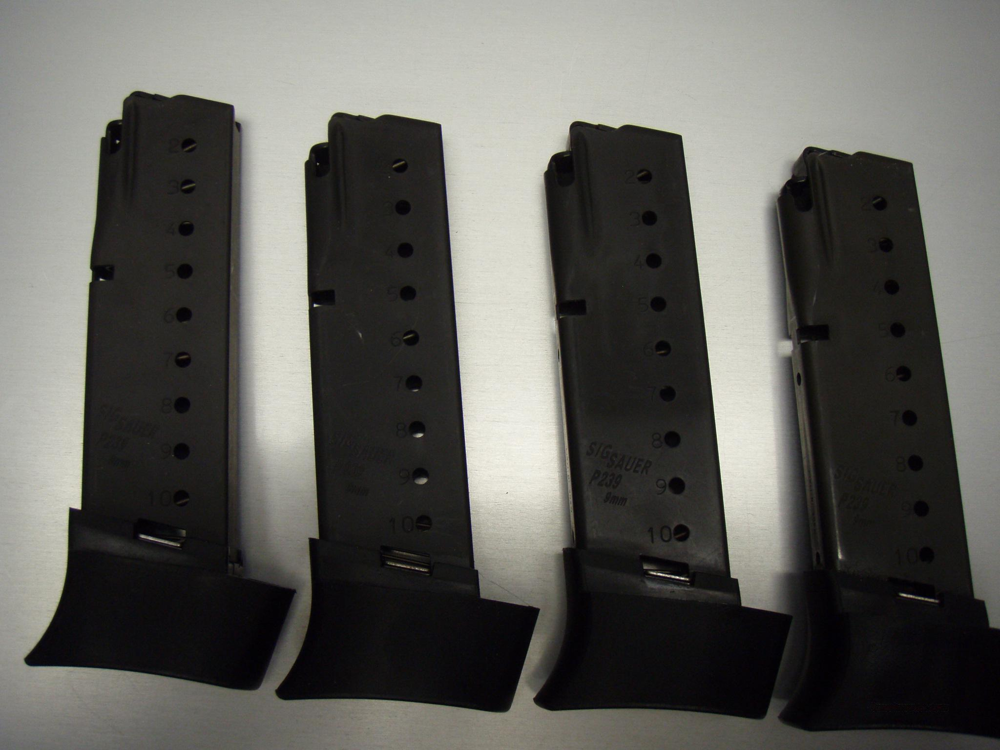 SIG P239 10 round 9mm mags  Non-Guns > Magazines & Clips > Pistol Magazines > Sig