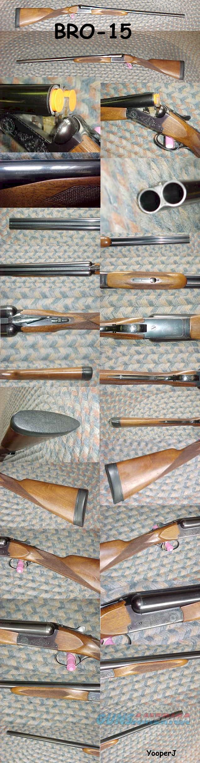 Browning B-SS 12 ga Sporter Single Selective Trigger   Guns > Shotguns > Browning Shotguns > Side by Sides