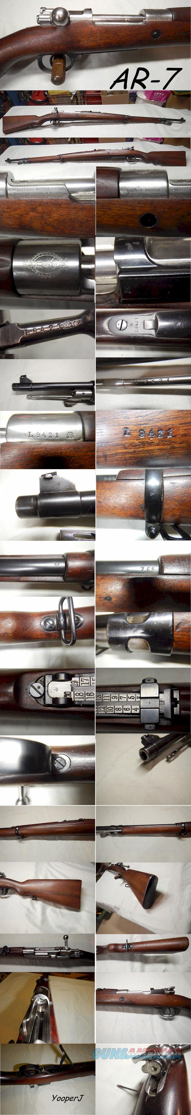 Argentine Model 1909 Rifle - Super nice all matching-Free Shipping- Awesome!  Guns > Rifles > Mauser Rifles > German