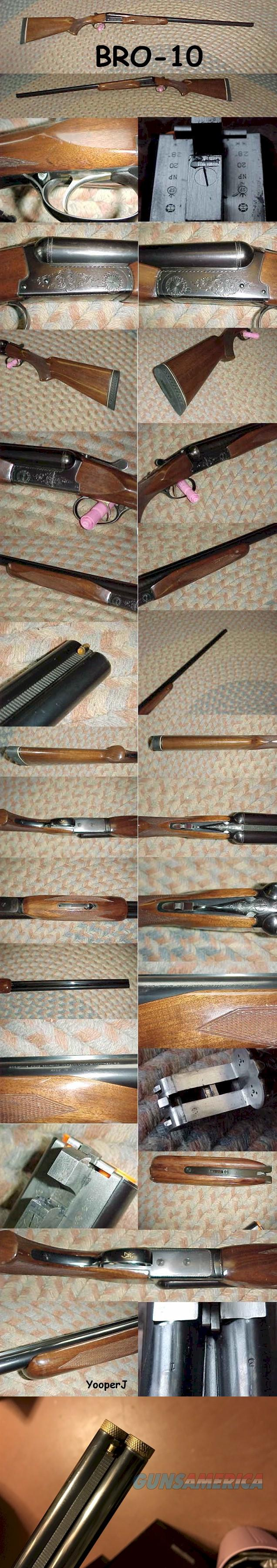 "Browning B-SS SxS choke tubes 20 gauge 28"" barrels  Guns > Shotguns > Browning Shotguns > Side by Sides"