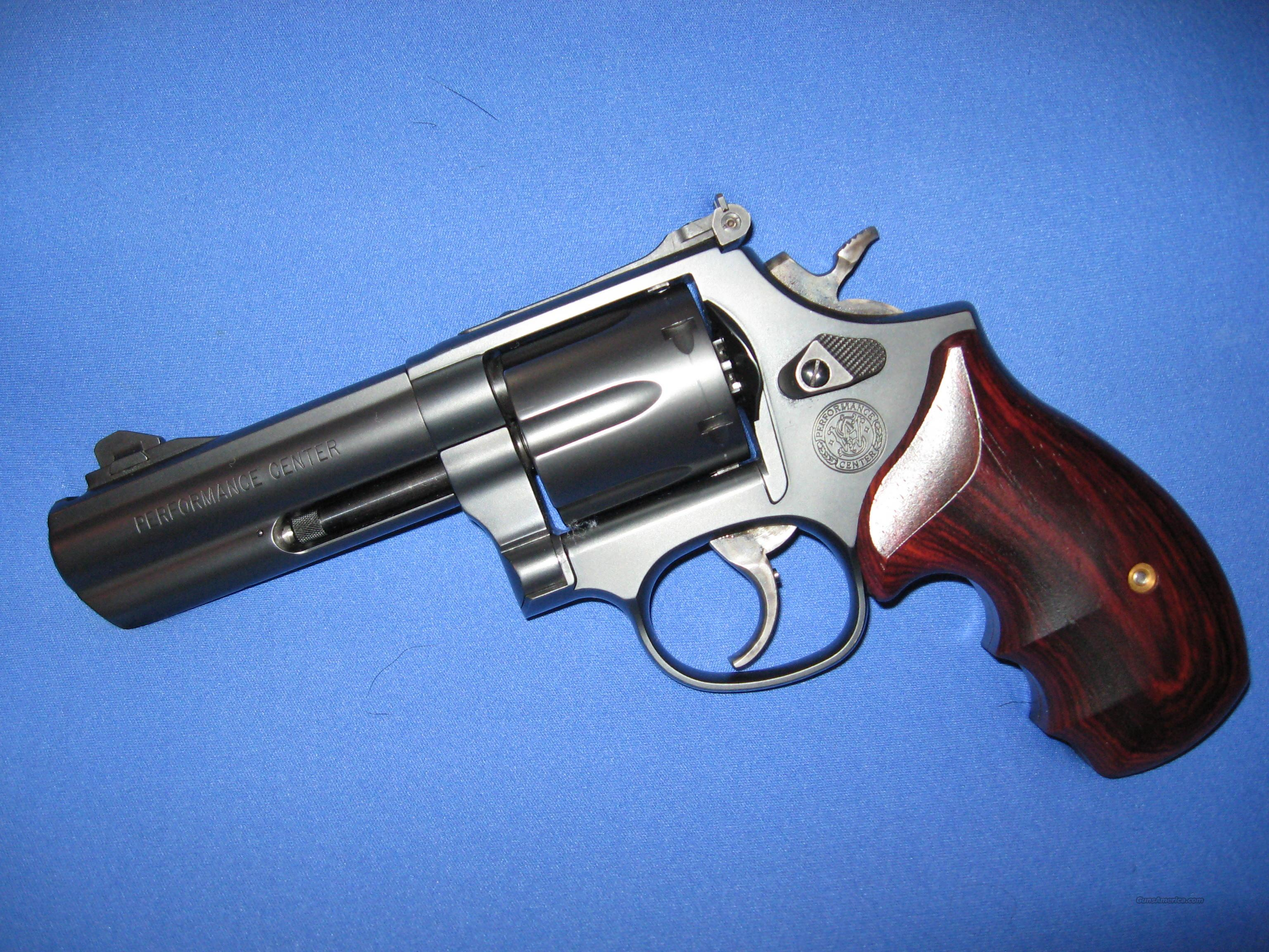 Smith & Wesson Performance Center 586 L-Comp 4-in   Guns > Pistols > Smith & Wesson Revolvers > Performance Center