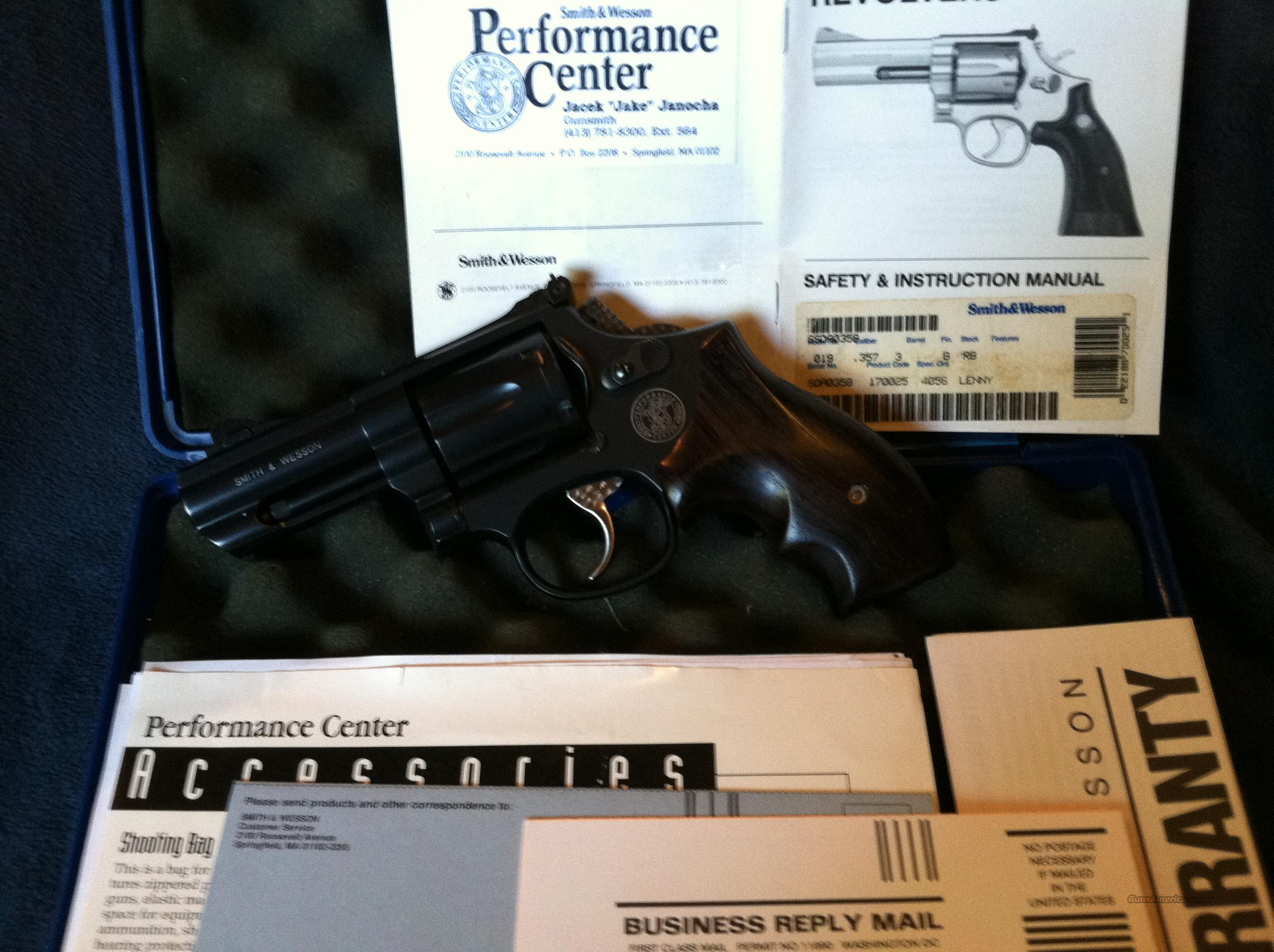 S&W Performance Center Model 19-7 3-in F-Comp  Guns > Pistols > Smith & Wesson Revolvers > Performance Center