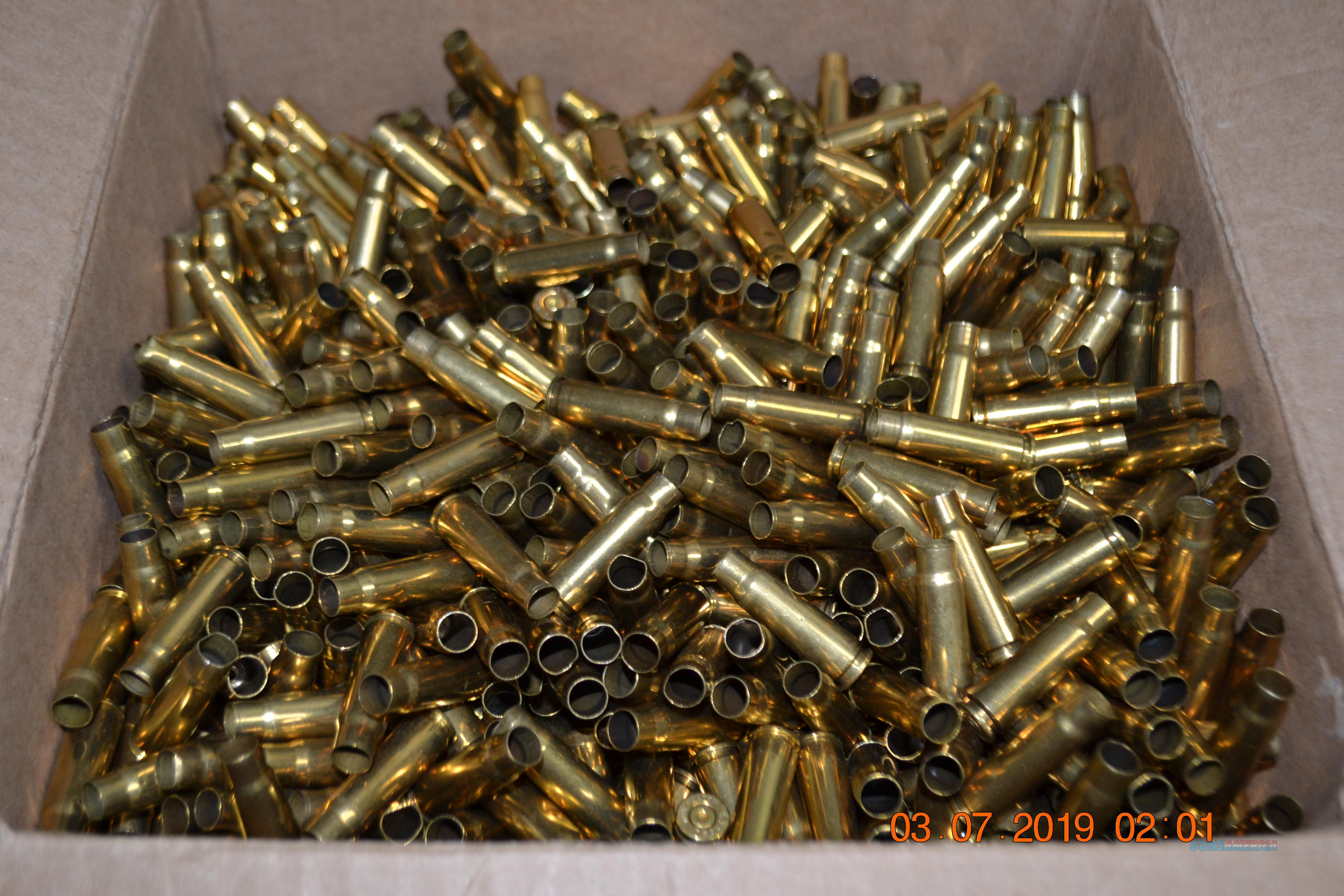 Once fired Federal processed 7.62x39 brass  Non-Guns > Ammunition