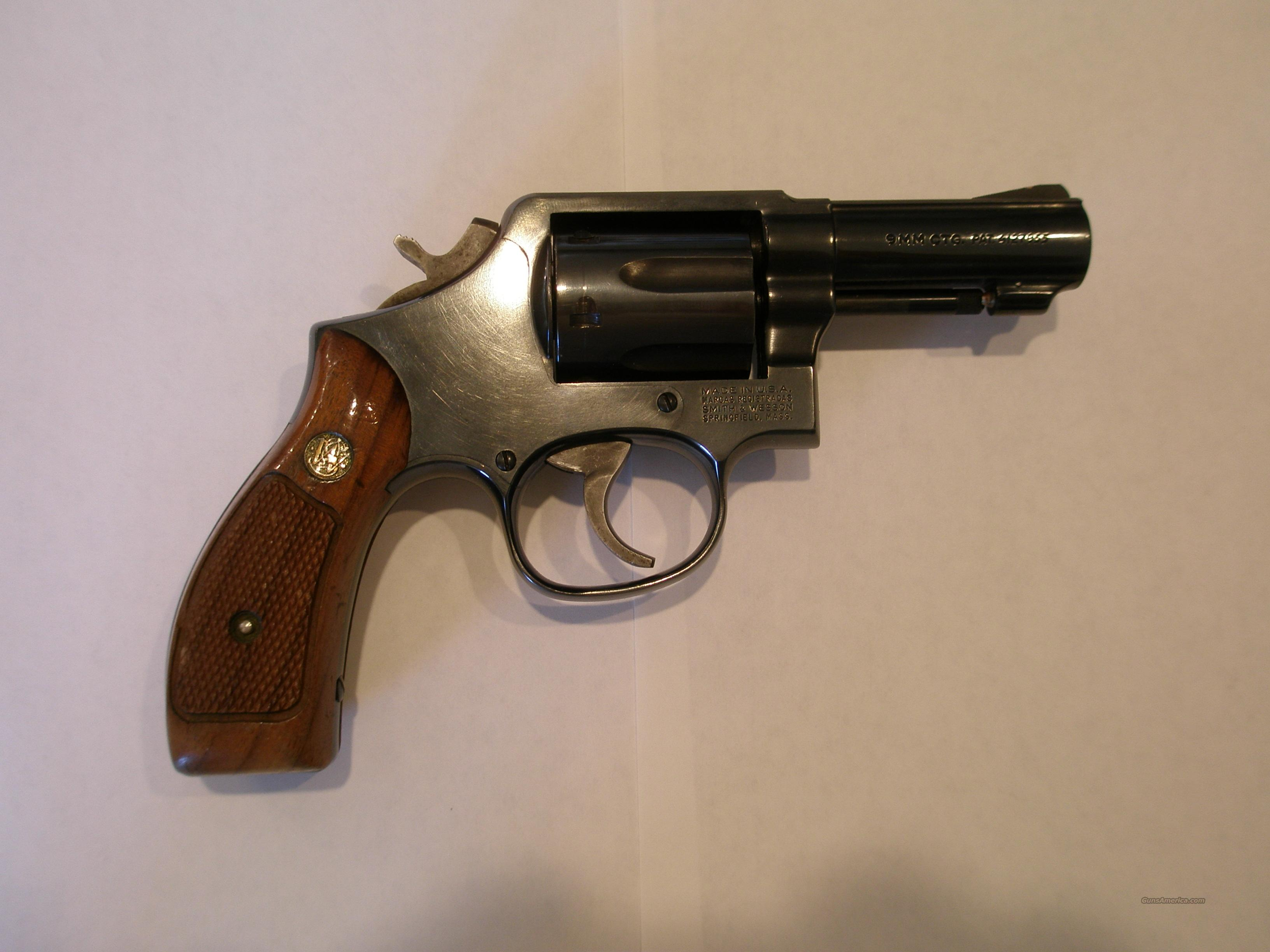 S&W 547 9mm Revolver for sale