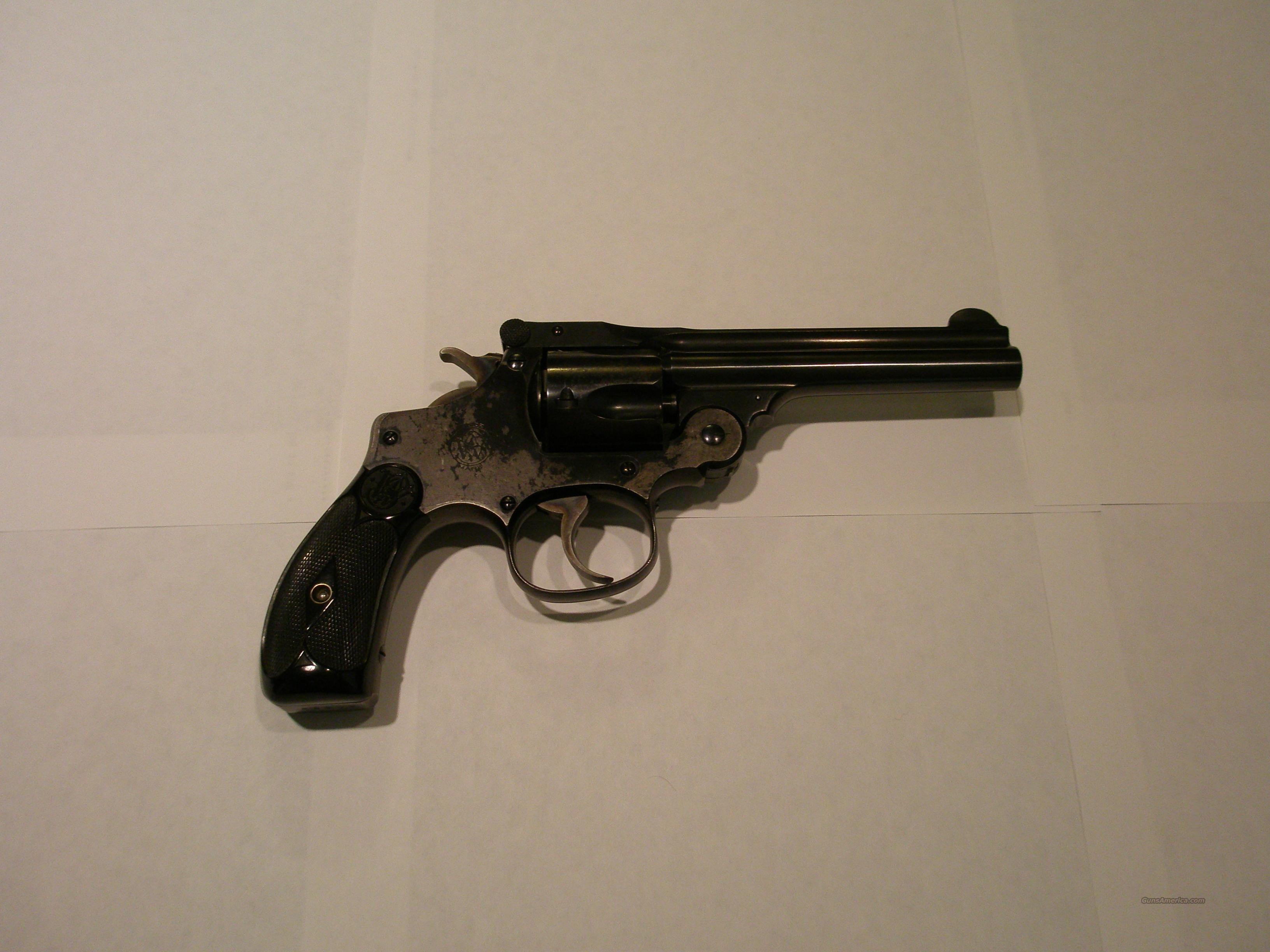 S&W .38 S&W Perfected Model  Guns > Pistols > Smith & Wesson Revolvers > Pocket Pistols