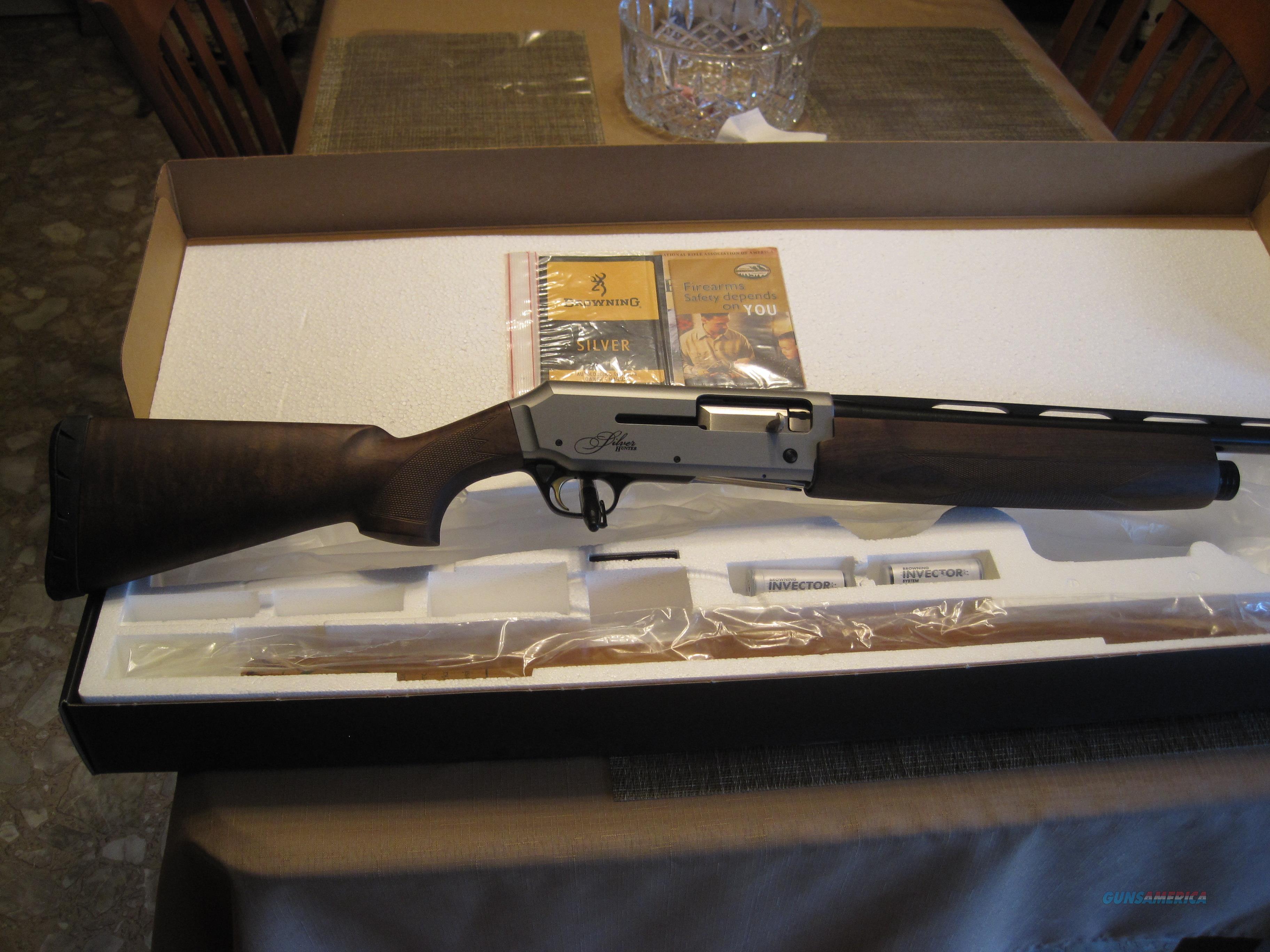 Browning Silver Hunter Micro  Guns > Shotguns > Browning Shotguns > Autoloaders > Hunting