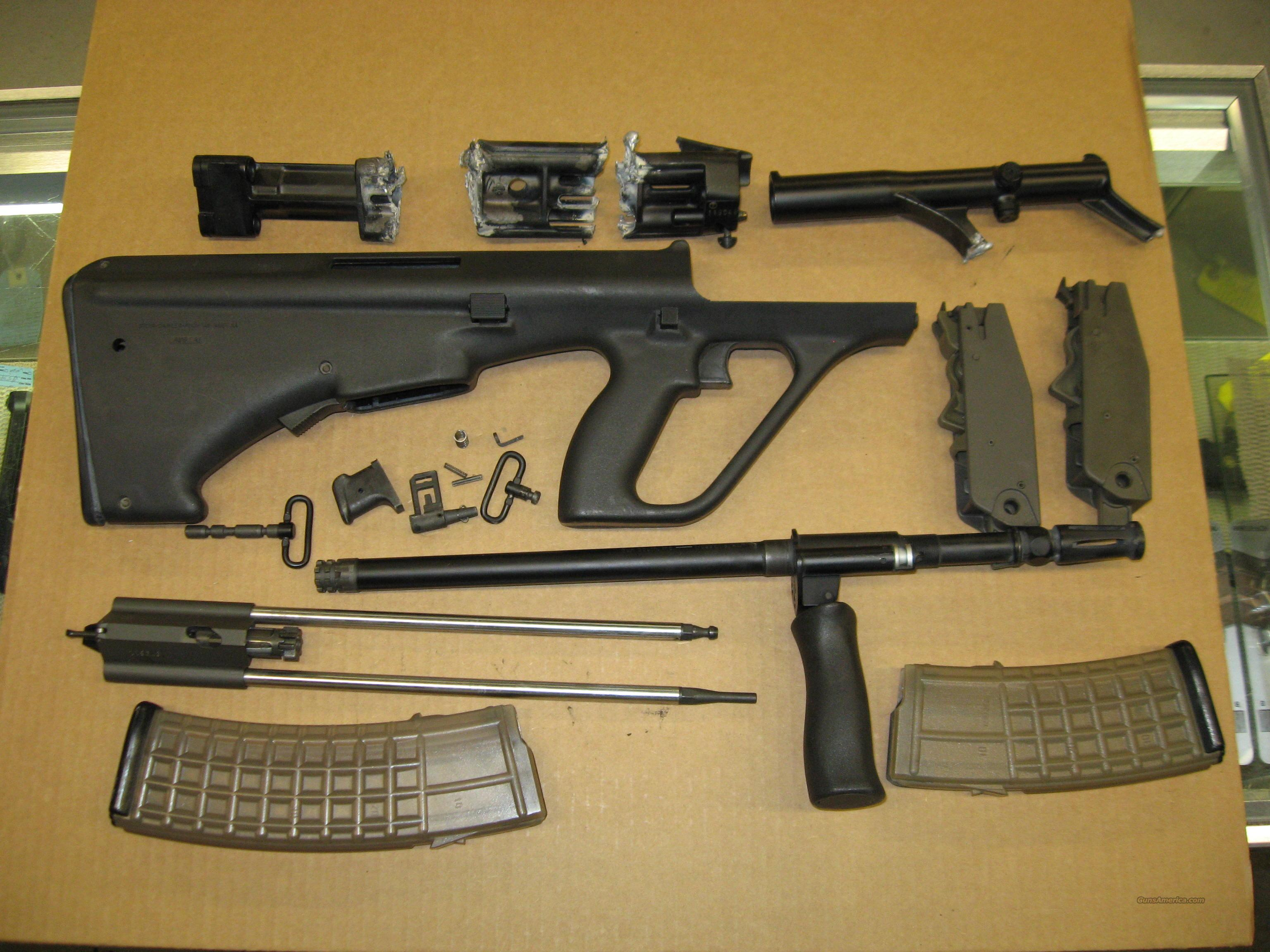 STEYR AUG-P 223 MACHINE GUN PARTS for sale