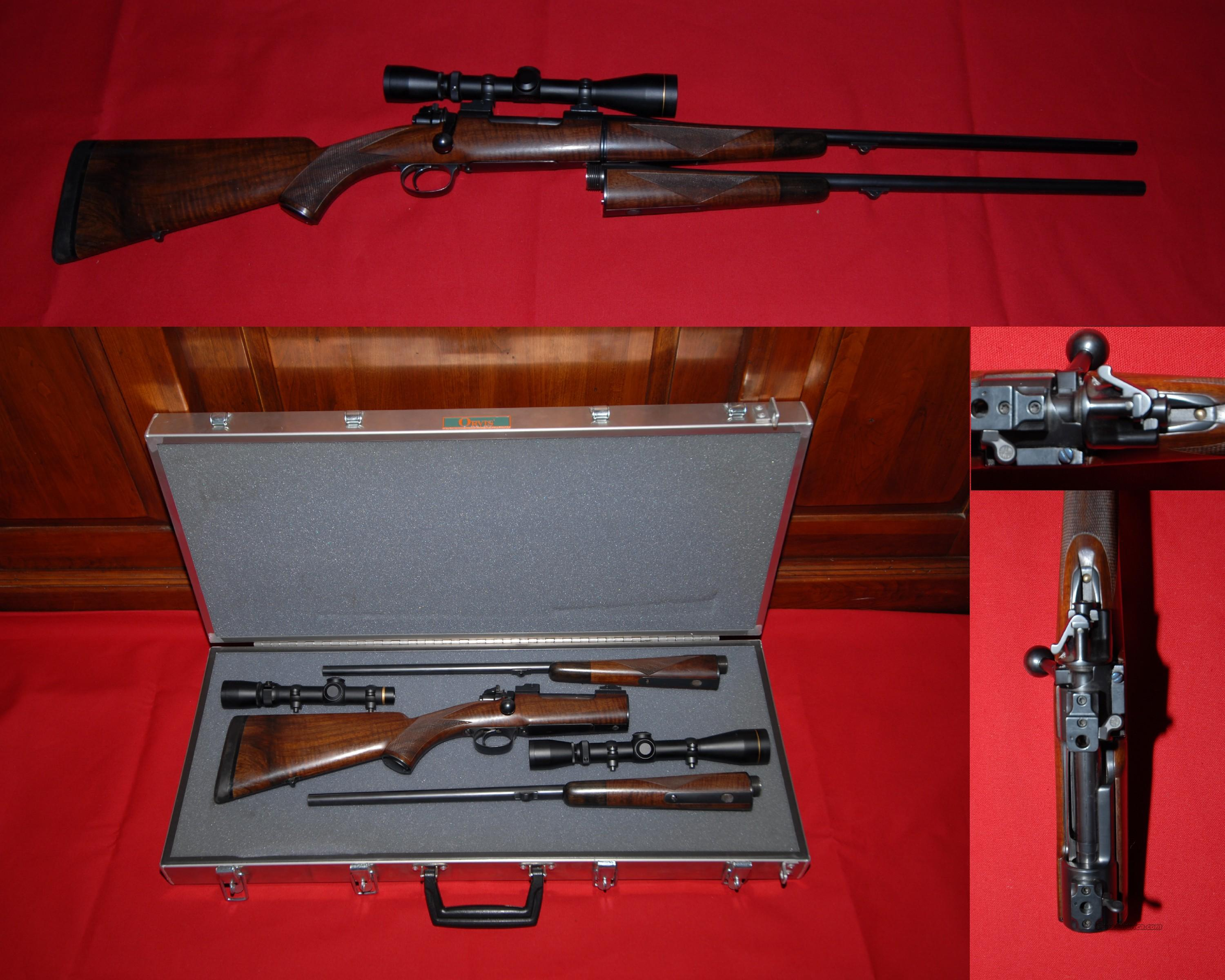 Mauser Takedown Custom Two Barrel Set  Guns > Rifles > Custom Rifles > Bolt Action