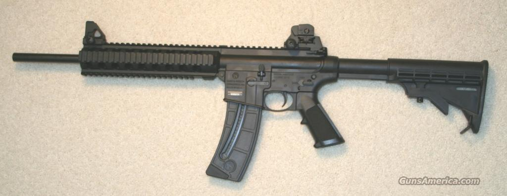 SMITH AND WESSON M&P15-22 22LR SEMI-AUTOMATIC RIFLE  Guns > Rifles > Smith & Wesson Rifles > M&P