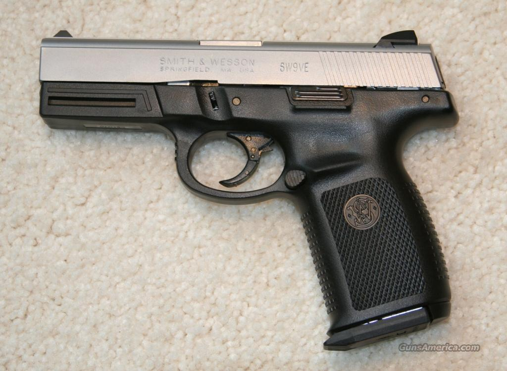 SMITH AND WESSON SIGMA Model SW9VE  Guns > Pistols > Smith & Wesson Pistols - Autos > Polymer Frame