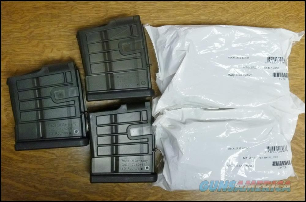 Five New HK 417 Mags  Non-Guns > Magazines & Clips > Rifle Magazines > HK/CETME