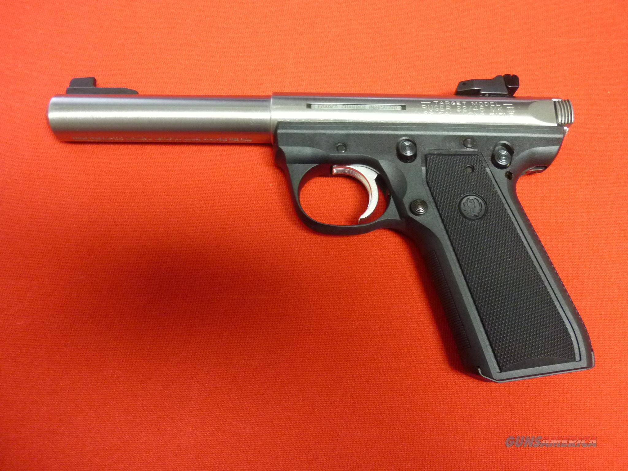 "Ruger 22/45 Mk III Target Stnls, 5.5""  Guns > Pistols > Ruger Semi-Auto Pistols > 22/45"