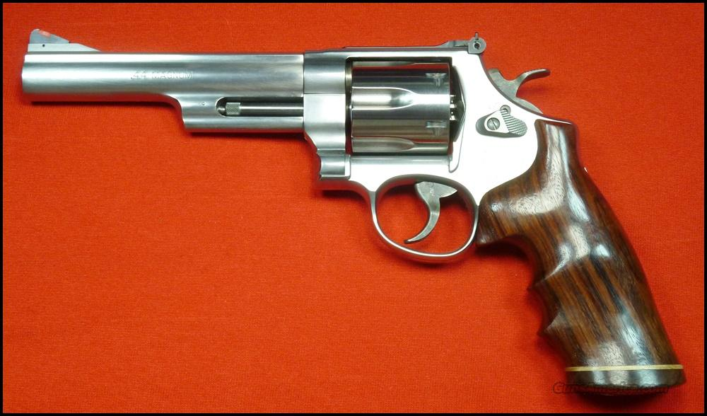 "S&W 629-6, 6"", Wood Grips  Guns > Pistols > Smith & Wesson Revolvers > Model 629"