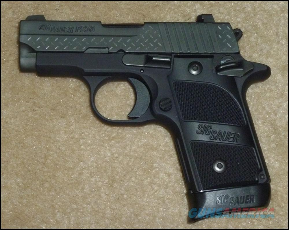 Sig P238 Black Diamond Plate .380, Unfired  Guns > Pistols > Sig - Sauer/Sigarms Pistols > P238