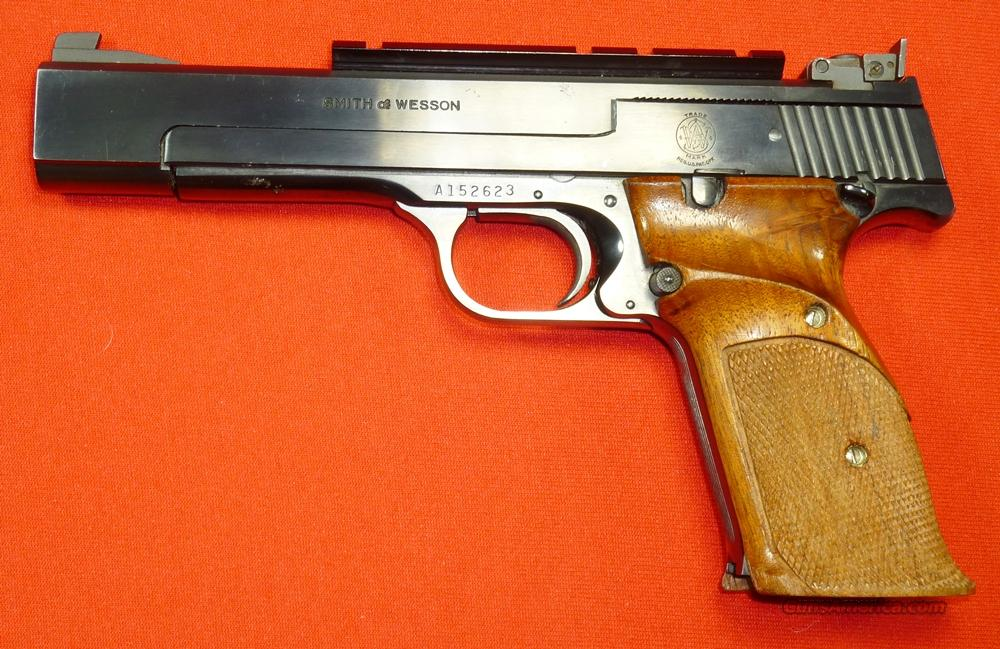 Early S&W 41 22lr  Guns > Pistols > Smith & Wesson Pistols - Autos > .22 Autos