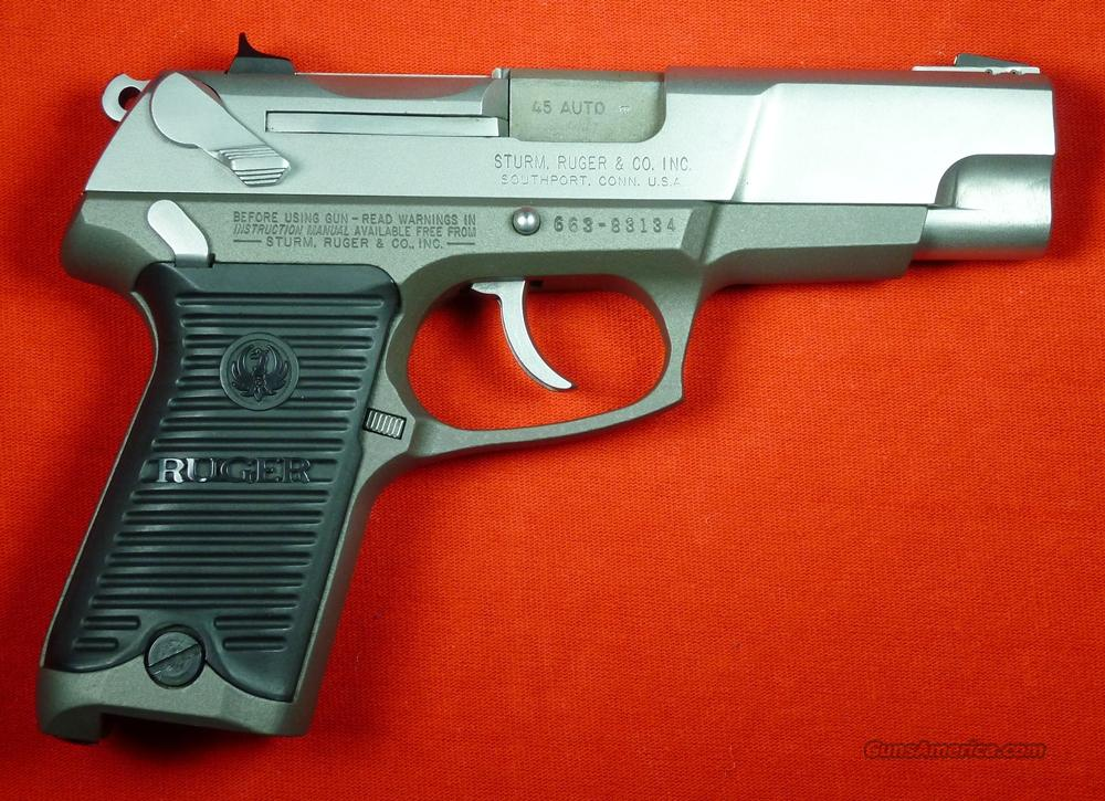 Ruger KP90 45acp, Holsters, 6 Mags  Guns > Pistols > Ruger Semi-Auto Pistols > P-Series