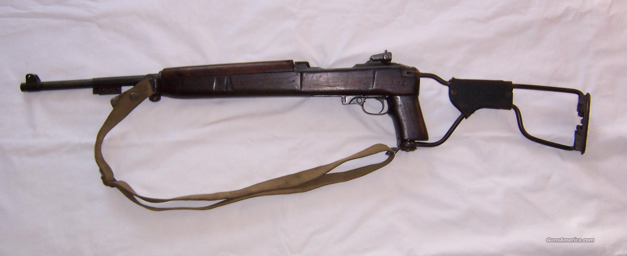 M1A1 Paratrooper Carbine  Guns > Rifles > Military Misc. Rifles US > M1 Carbine
