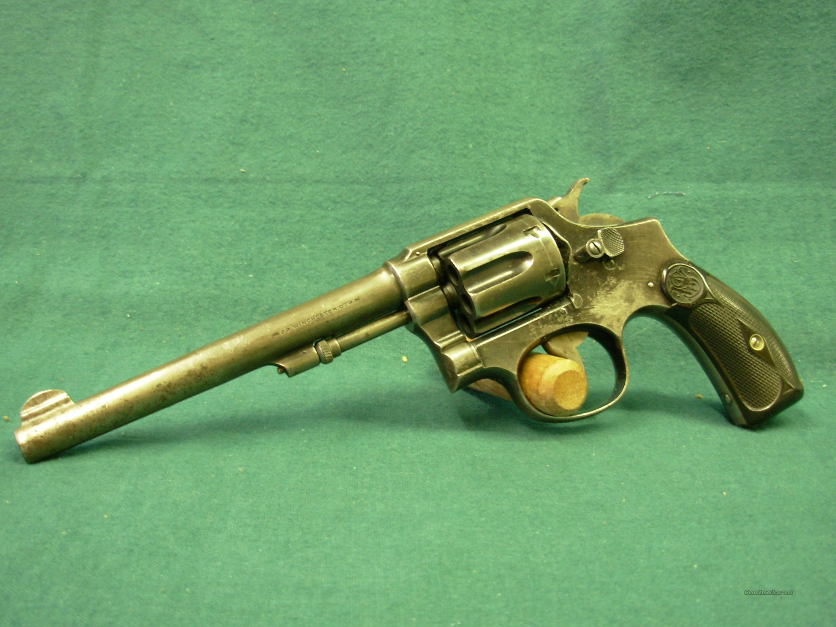 Smith & Wesson Hand Ejector 32 Win  Guns > Pistols > Smith & Wesson Revolvers > Pre-1945