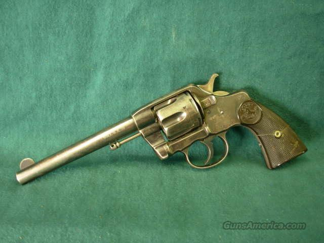 Colt New Army 2nd issue (DA 38)  Guns > Pistols > Colt Double Action Revolvers- Pre-1945