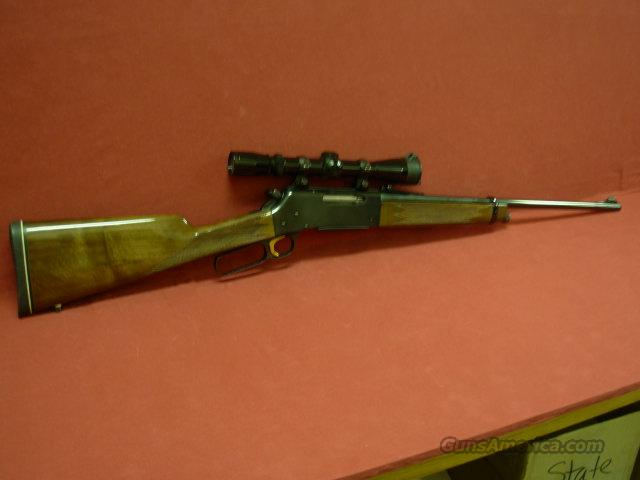 Browning BLR 358 Win with scope  Guns > Rifles > Browning Rifles > Lever Action