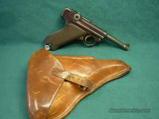 Mauser Luger 9mm 1936 dated  Guns > Pistols > Mauser Pistols