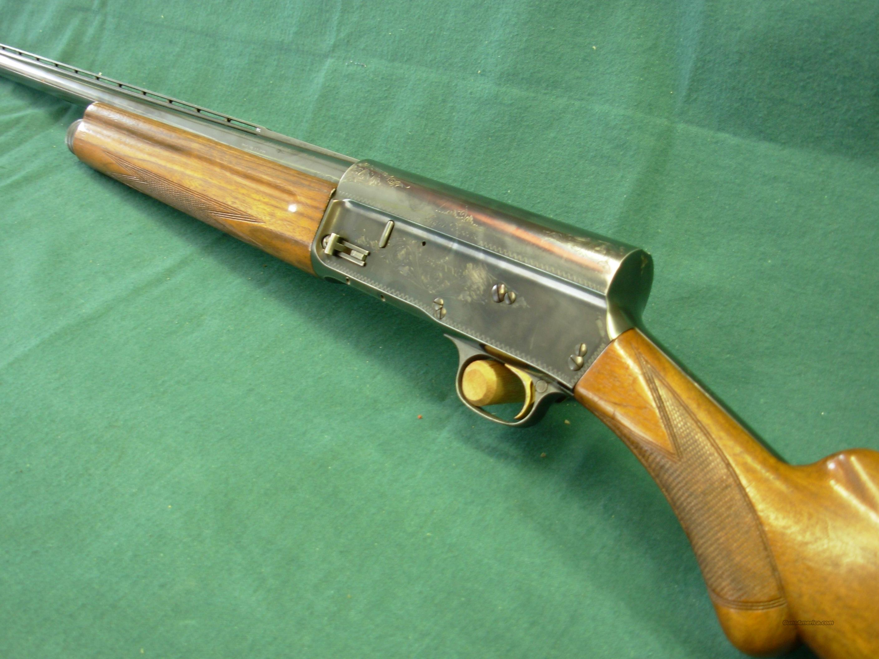Browning Auto 5 Light 12 with extra barrel  Guns > Shotguns > Browning Shotguns > Autoloaders > Hunting