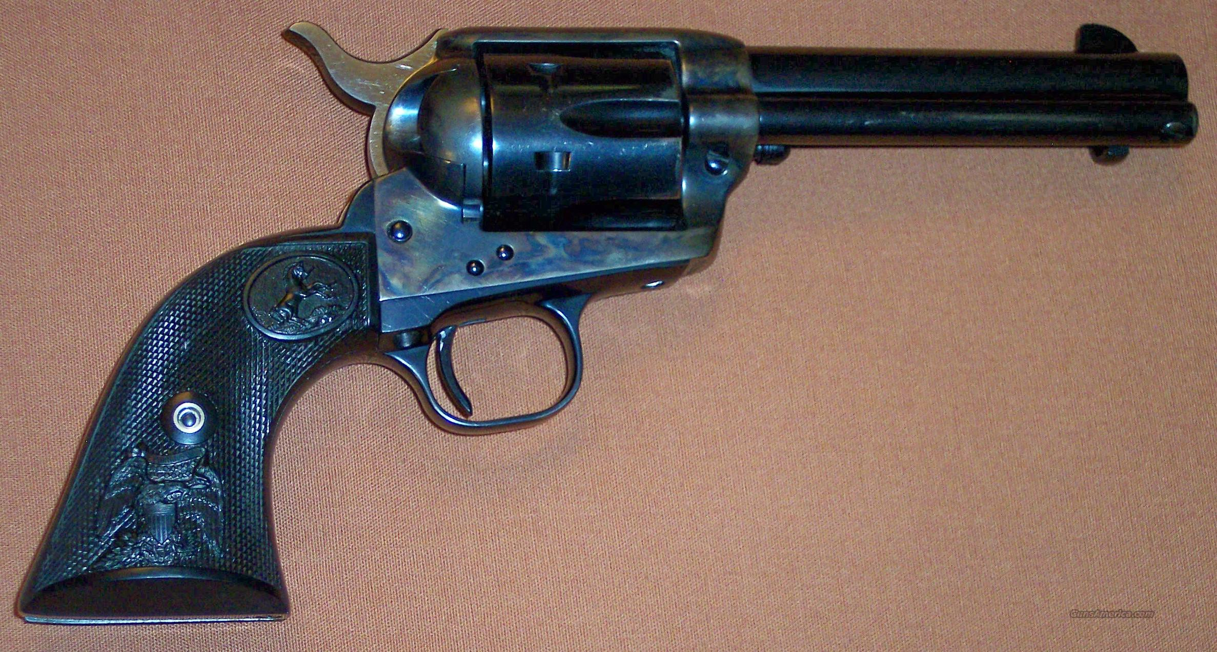 "Colt Single Action Army 4.75"" .38-40, 3rd Generation  Guns > Pistols > Colt Single Action Revolvers - 3rd Gen."