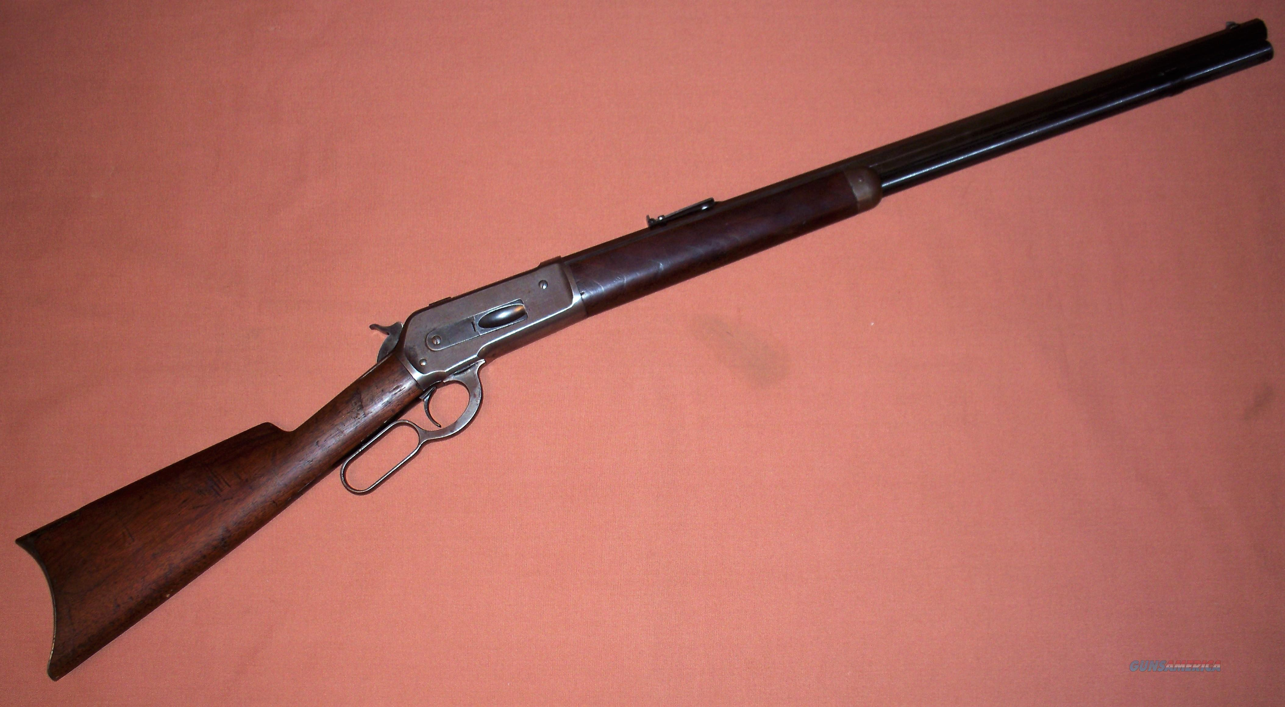 Winchester Model 1886 45-90 Octagon Barrel c. 1886 ANTIQUE Serial #286  Guns > Rifles > Winchester Rifles - Pre-1899 Lever