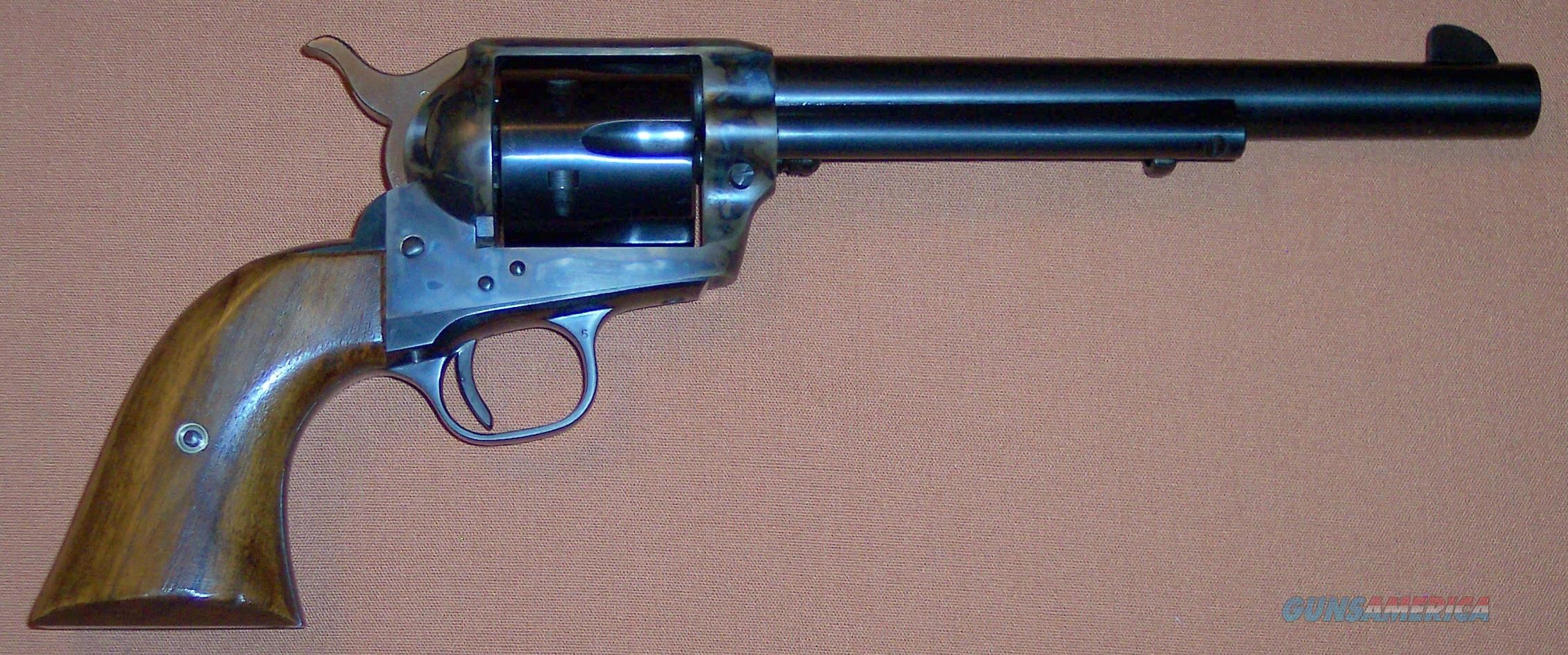 """Colt 2nd Generation Single Action Army SAA 45 N.I.B. with 7.5"""" Barrel, Factory Walnut Grips, Mint Condition  Guns > Pistols > Colt Single Action Revolvers - 2nd Gen."""