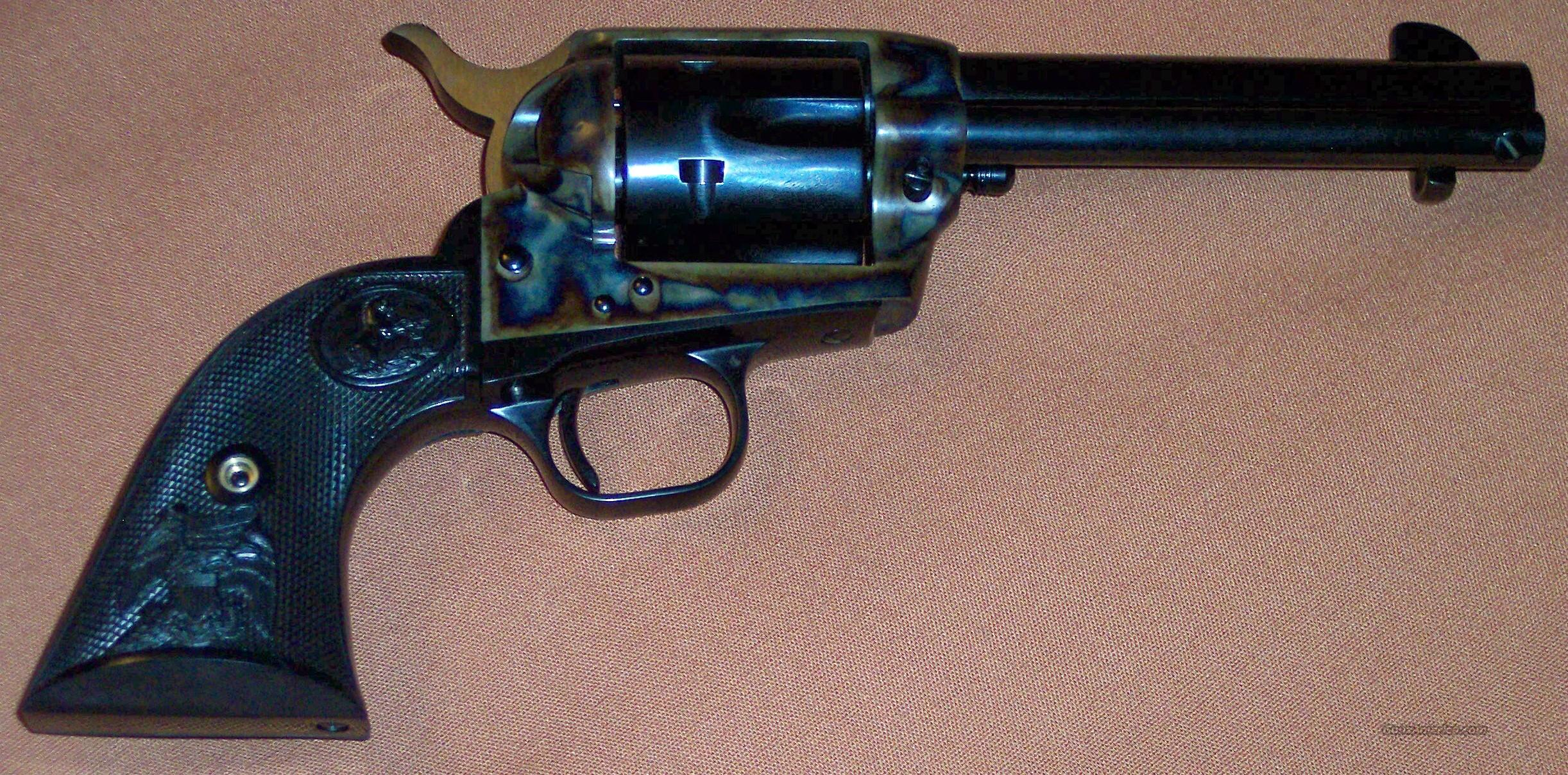 "Colt Single Action Army 4.75"" .45LC N.I.B.  Guns > Pistols > Colt Single Action Revolvers - 3rd Gen."