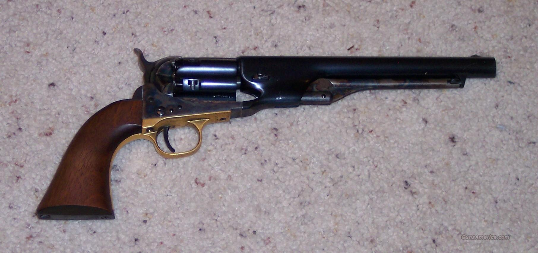 2nd Gen. Colt Army Fluted Cylinder  Guns > Pistols > Colt Percussion Revolver - Modern