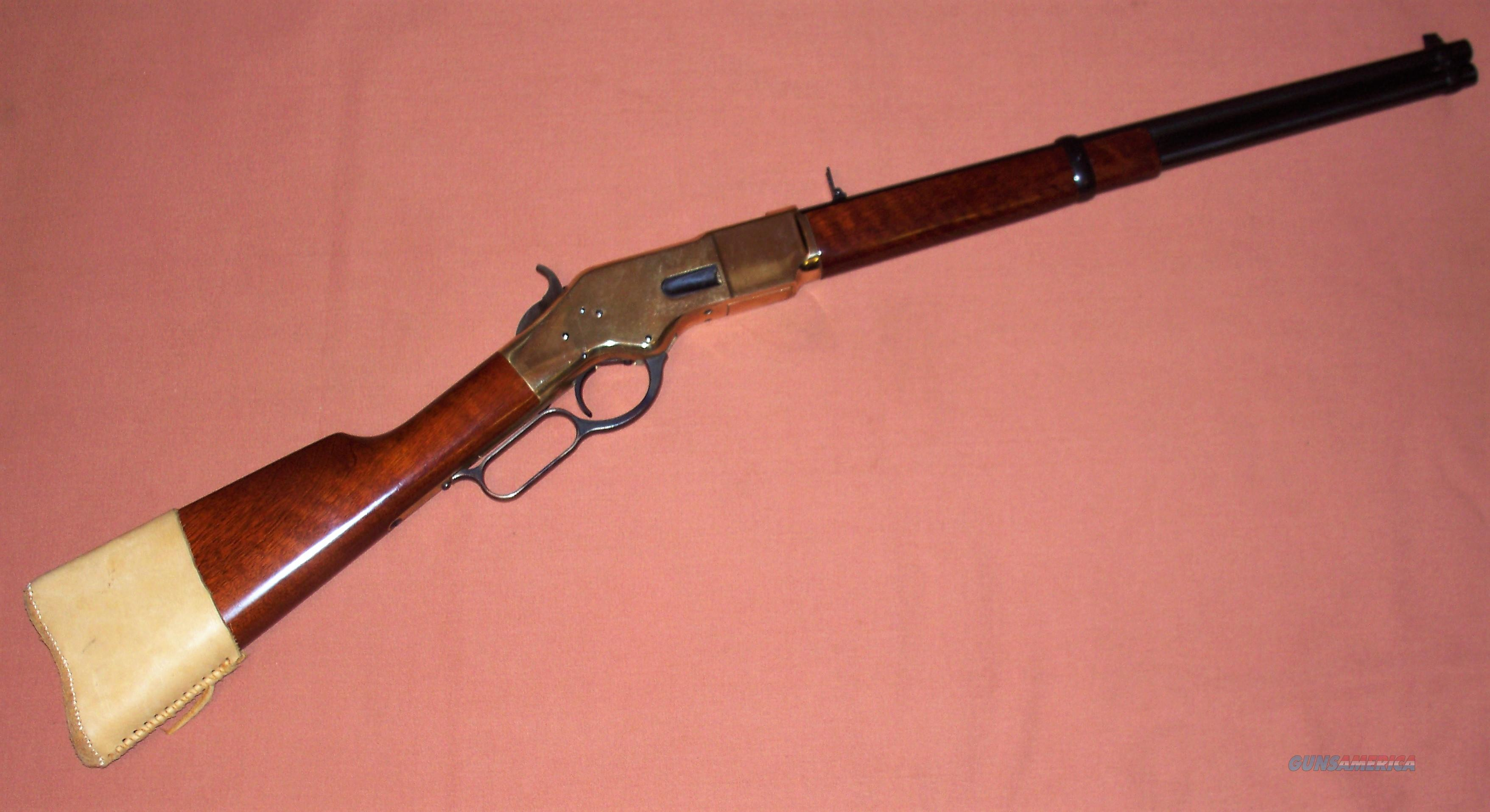Uberti 1866 Yellowboy Carbine in Scarce 44 Special  Guns > Rifles > Uberti Rifles > Lever Action