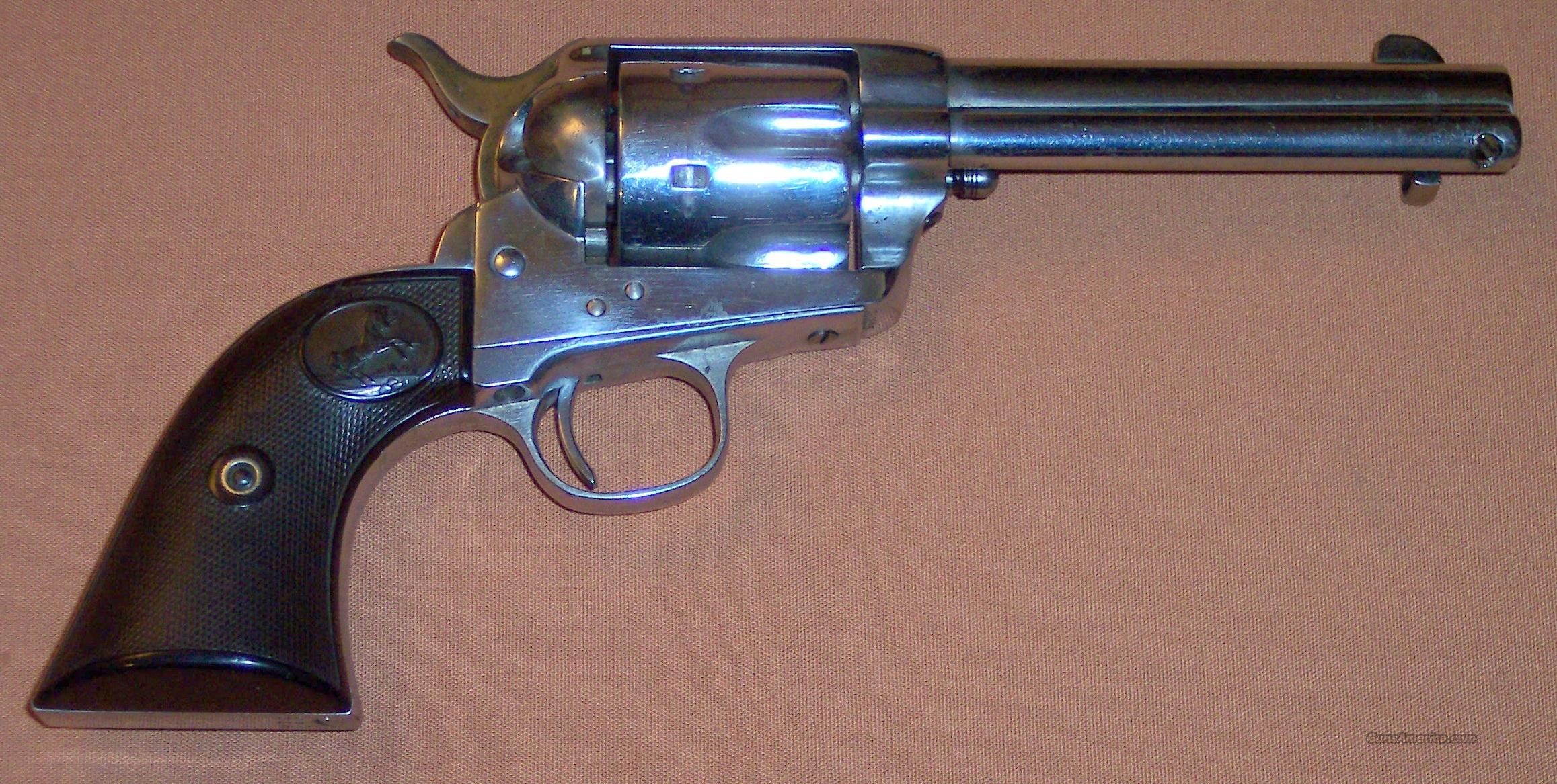 Colt Single Action Army (SAA) .45 LC c. 1893 Antique for sale