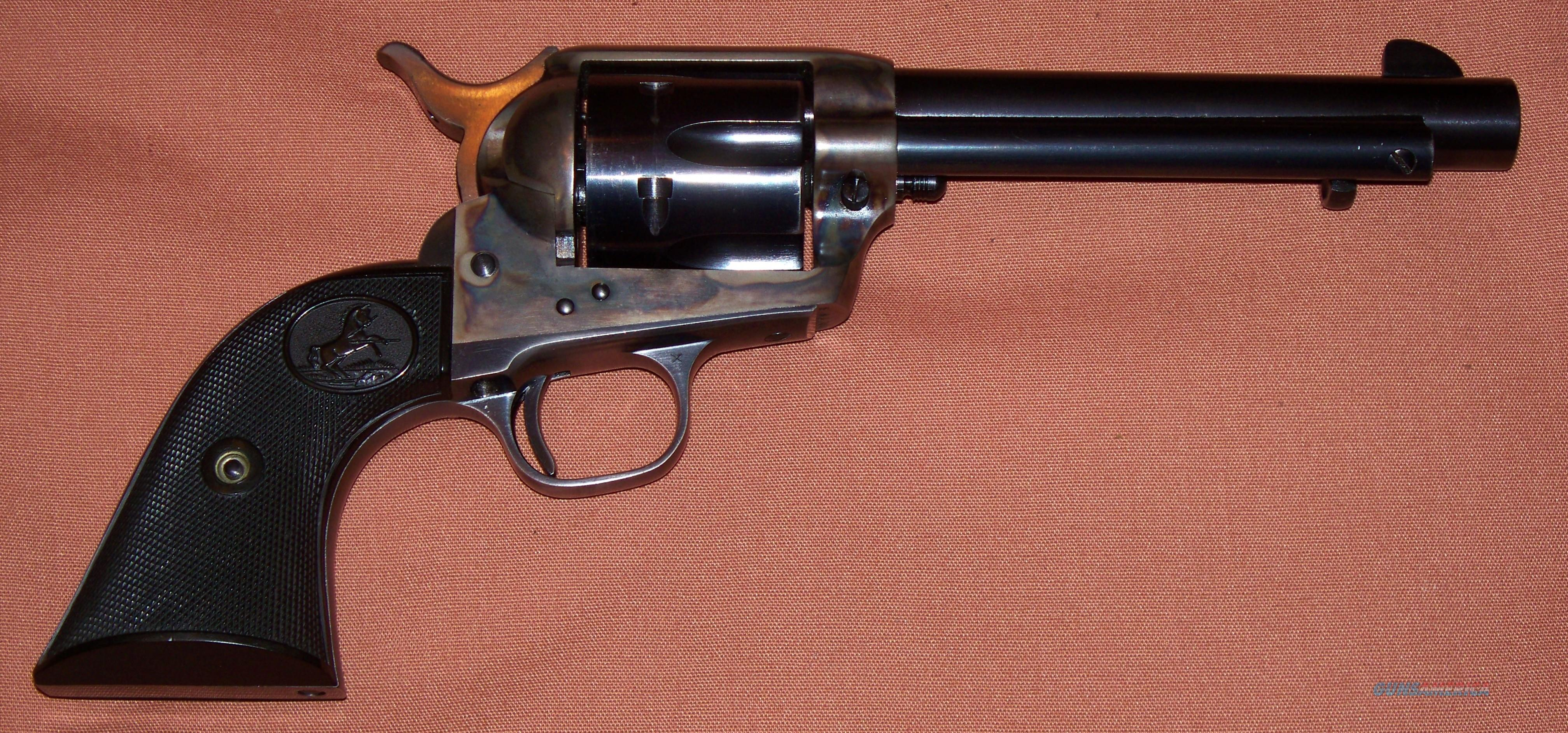 "Colt SAA 2nd Generation Single Action Army 5.5"" Barrel 45 LC c. 1956  Guns > Pistols > Colt Single Action Revolvers - 2nd Gen."