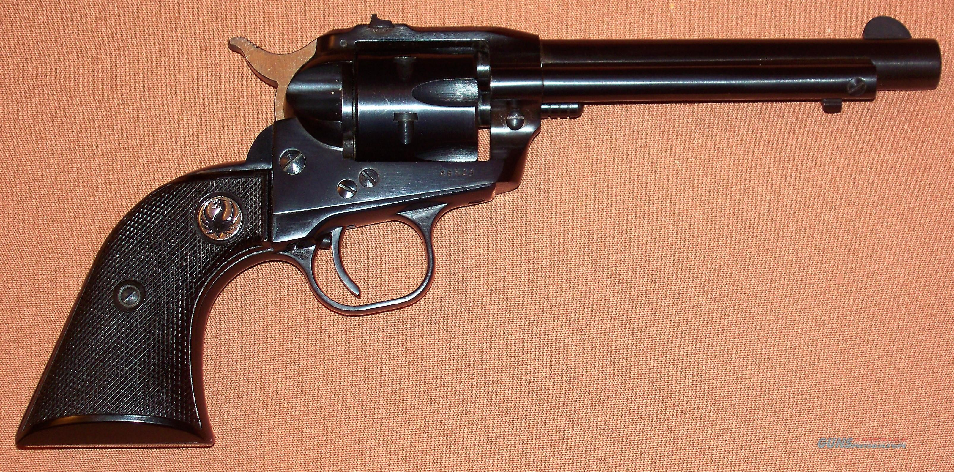 Ruger Single Six Flat Loading Gate, .22LR c. 1956, N.I.B.   Guns > Pistols > Ruger Single Action Revolvers > Single Six Type