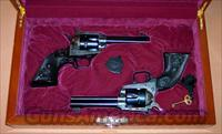 Cased, One-of-a-Kind, Pair of Colt New Frontier .22LR  Guns > Pistols > Colt Single Action Revolvers - Modern (22 Cal.)