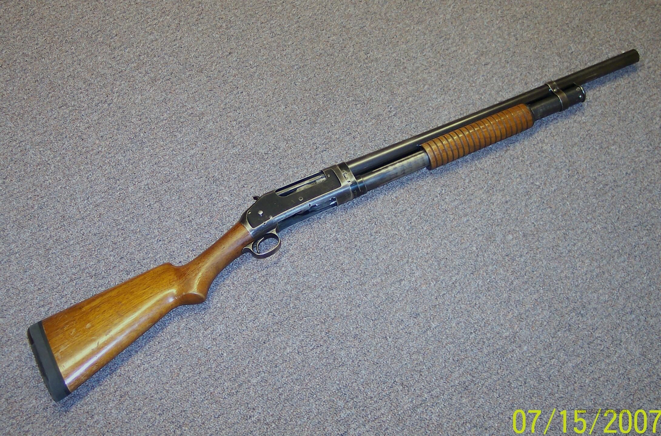"Model 1897 w/20.5"" Barrel  Guns > Shotguns > Winchester Shotguns - Modern > Pump Action > Hunting"