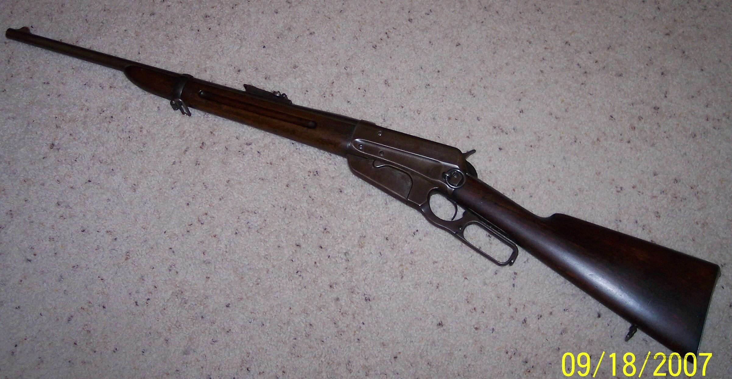 1895 Saddle Ring Carbine  Guns > Rifles > Winchester Rifles - Modern Lever > Other Lever > Pre-64