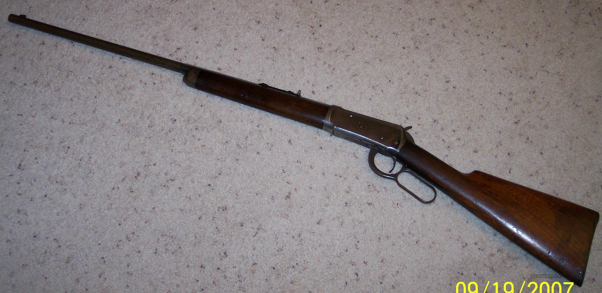 1894 .38-55 with Half Round Barrel  Guns > Rifles > Winchester Rifles - Modern Lever > Model 94 > Pre-64