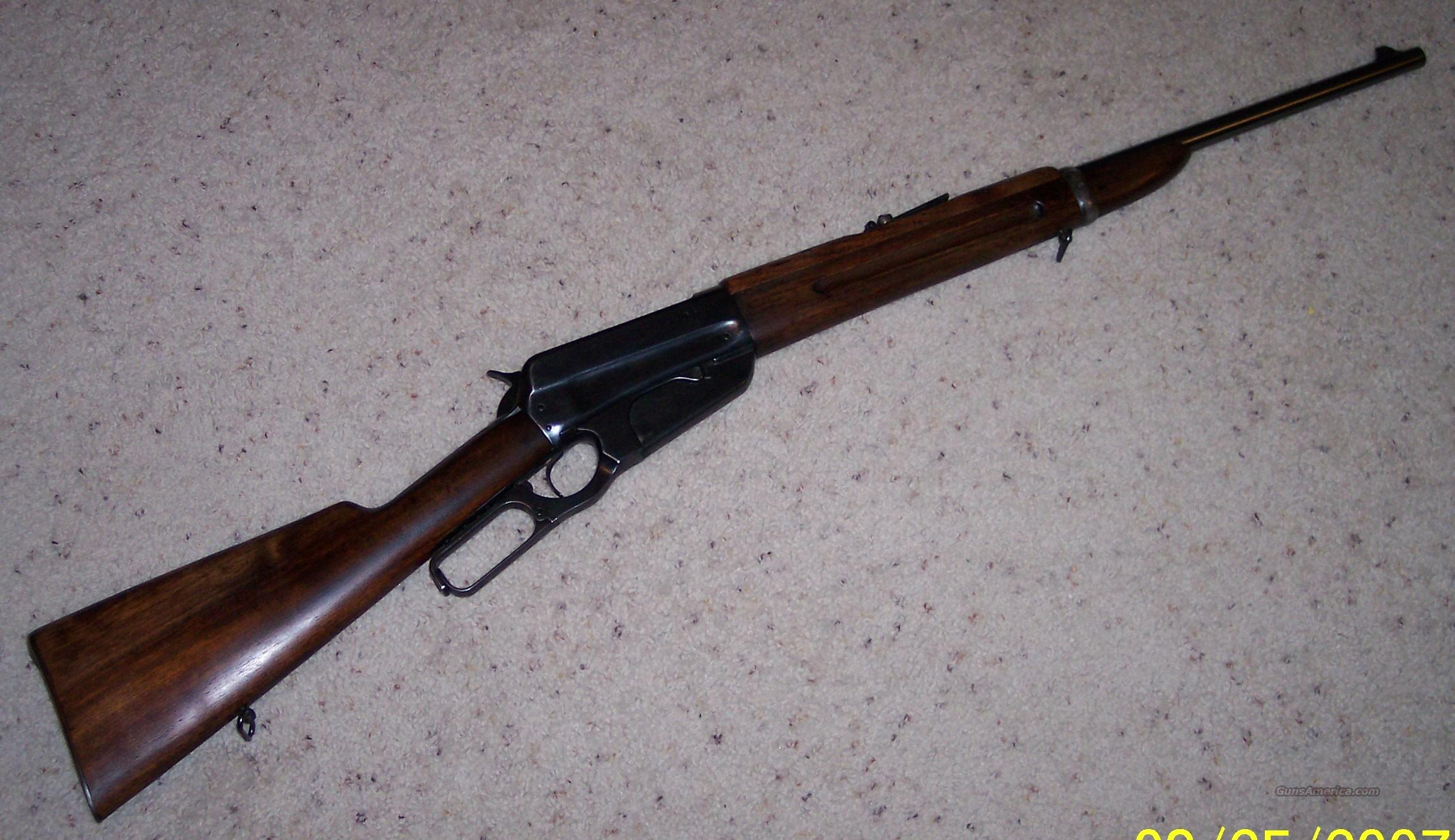 Winchester 1895 Saddle Ring Carbine .303 British, Refinished  Guns > Rifles > Winchester Rifles - Modern Lever > Other Lever > Pre-64