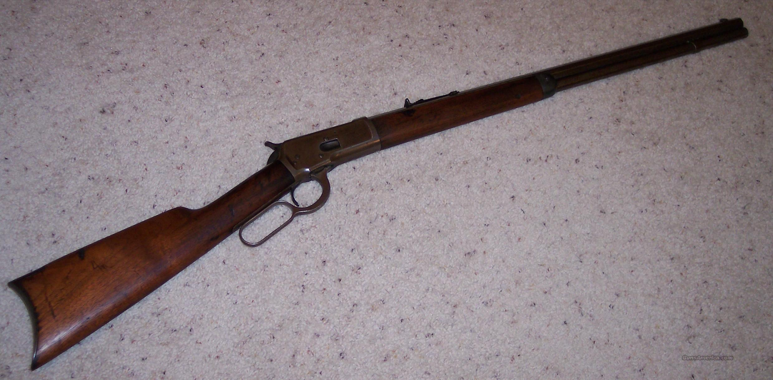 1892 Octagon .38WCF Rifle  Guns > Rifles > Winchester Rifles - Modern Lever > Other Lever > Pre-64
