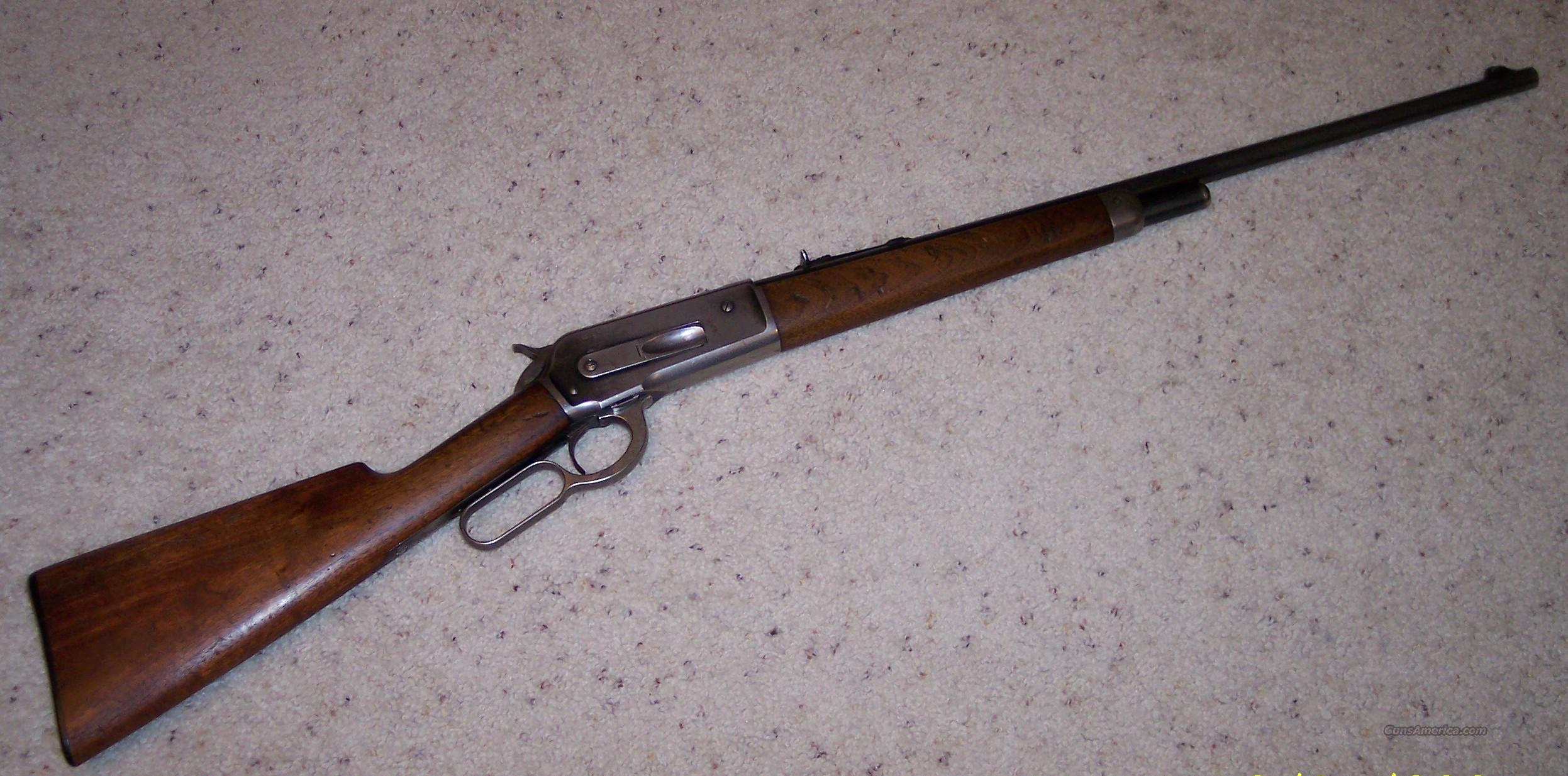 1886  Rifle in .33 WCF  Guns > Rifles > Winchester Rifles - Modern Lever > Other Lever > Pre-64